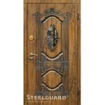 Входные Steelguard Sangria Glass  - улица