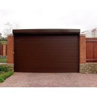 Роллетные гаражные ворота, размер 3000 ш 2300 в, 77 профиль