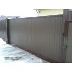 Алюминиевые откатные ворота Алютех серия ADS400