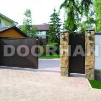 Алюминиевые откатные ворота Doorhan