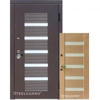 Входные Steelguard MILANO Венге/Венге светлый