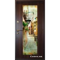 Входные Conex Двери со вставкой зеркала или фотопечати