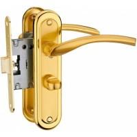 Ручка дверная MVM A-2005 WC PB/SB