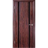 WoodOk Двери Глазго 2 ПГ эбен черный триплекс