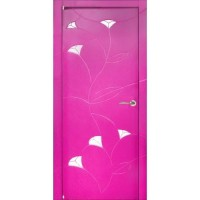 WoodOk Двери Пинк ПО эмаль розовая