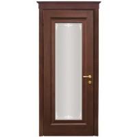 WoodOk Двери Франческа 1s (Венге шоколад, Дуб бел, Сандал)