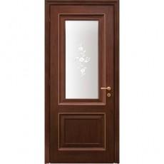 WoodOk Двери Франческа 2s (Венге шоколад, Дуб бел, Сандал)
